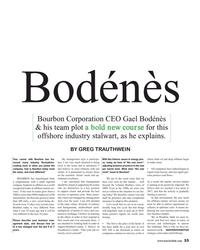 MR Apr-18#33 Bodénès Bourbon Corporation CEO Gael Bodénès  & his team