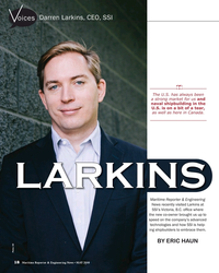 MR May-18#18  visited Larkins at  SSI's Victoria, B.C. of?  ce where  the