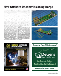 MR May-18#53 New Offshore Decommissioning Barge Longitude Engineering