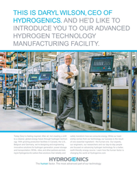 MR Jun-18#5 THIS IS DARYL WILSON, CEO OF  HYDROGENICS. AND HE'D LIKE