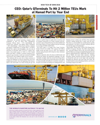 MR Aug-18#113 NEW TECH ? SMM 2018 CEO: Qatar's QTerminals To Hit 2