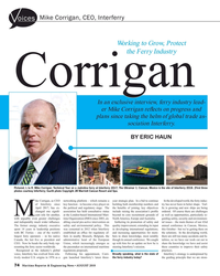 MR Aug-18#74 Mike Corrigan, CEO, Interferry oices Working to Grow