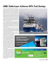 MR Aug-18#93 , specialized cable layer NKT Victoria reportedly  achieves