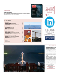 MR Sep-18#8 The Largest  Maritime Social  THE COVER Media Network in