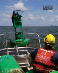 MR Sep-18#39 Aids to Navigation team  members from Dulac,  La., straighte