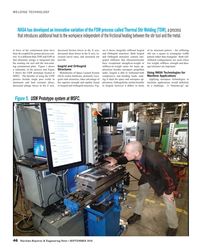 MR Sep-18#46  of the FSW process called Thermal Stir Welding (TSW), a