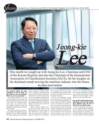 MR Oct-18#16 Jeong-kie Lee, Chairman and CEO of the Korean Register &