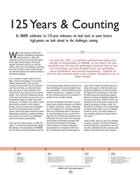 MR Oct-18#45 125 Years & Counting As SNAME celebrates its 125-year