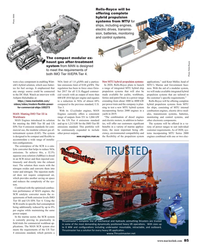 MR Oct-18#85  propulsion  systems from MTU for  Photo: MAN ships,