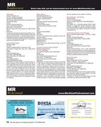 MR Oct-18#92 MR Employment Select jobs that can be found posted now on