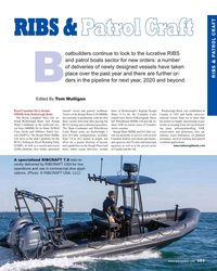 MR Nov-18#101 RIBS & Patrol CraftRIBS & Patrol Craft oatbuilders continue