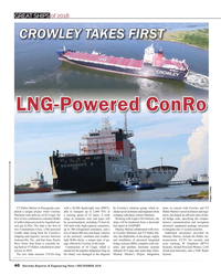 MR Dec-18#40 GREAT SHIPS GREAT SHIPS of 2018 CROWLEY TAKES FIRSTCROWLEY