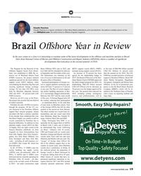 MR Jan-19#19 M MARKETS: Offshore Energy Claudio Paschoa Claudio Paschoa