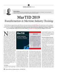 MR Jan-19#24 T TRAINING & EDUCATION: MarTID 2019 Murray Goldberg Murray