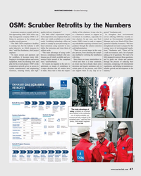 MR Jan-19#47 MARITIME EMISSIONS • Scrubber Technology OSM: Scrubber