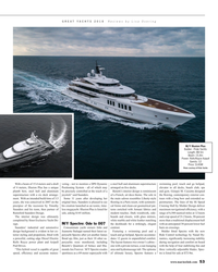 MR Jan-19#53 GREAT YACHTS 2018  Reviews by Lisa Overing M/Y Illusion