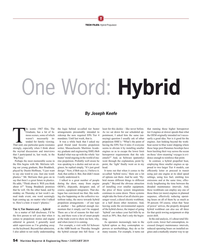 MR Jan-19#54  'hybrid' can reduce your fuel bills by as  for that quick