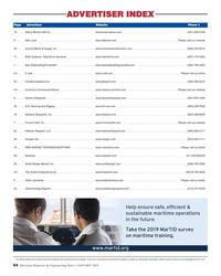 MR Jan-19#64 MR JAN 2019 Ad Index:Layout 1  1/17/2019  2:26 PM  Page