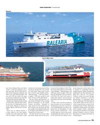 MR Feb-19#31  on  ran fast ferry for Mediterranean service  Channel,