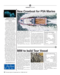 MR Feb-19#42   Photo: Incat Crowther industries. With the new  Lita