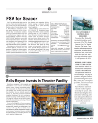 MR Feb-19#43 W WORKBOATS: TUG & BARGE FSV for Seacor Gulf Craft delivered