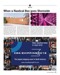 MR Feb-19#51  a Nautical Box goes Shoreside 'Green' initiatives