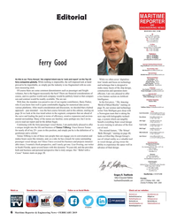 MR Feb-19#6   ferry companies globally.  Peter Pospiech - Germany William