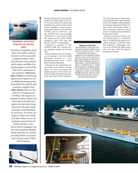 MR Mar-19#28 CRUISE SHIPPING • THE MARKET REPORT thrusters offering the