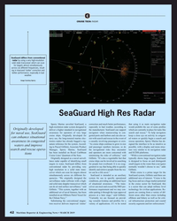 MR Mar-19#42 C CRUISE TECH: RADAR SeaGuard differs from conventional