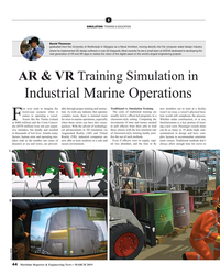 MR Mar-19#44  industry  where he implemented 3D design software in over