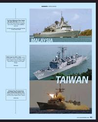 MR Apr-19#41  NAVIES The Royal Malaysian Navy frigate  KD Lekiu (FFG