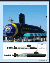 MR Apr-19#43 WARSHIPS • WORLD NAVIES Above:  S 40 submarine atop the