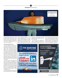 MR Apr-19#47 T TECHNOLOGY: RIBS & PATROL CRAFT Naval architect Peter