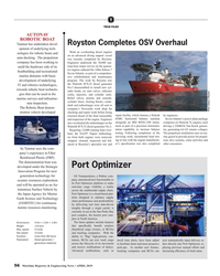 MR Apr-19#56 T TECH FILES AUTONAV  ROBOTIC BOAT Royston Completes OSV