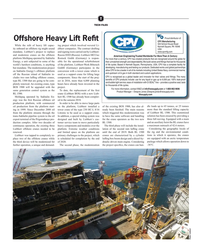 MR Apr-19#57 T TECH FILES Proud distributor of: Offshore Heavy Lift