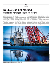 MR Apr-19#58 T TECH FILES Double Duo Lift Method:  Scaldis lifts