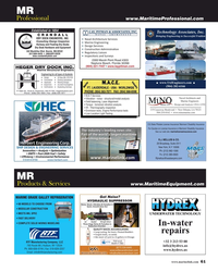 MR Apr-19#61  to Successful Fruition DRY DOCK ENGINEERS, INC.