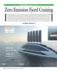 MR May-19#40  zero-emissions solutions. By William Stoichevski Sail, Solar