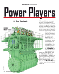 MR May-19#44 MARINE PROPULSION • THOUGHT LEADERSHIP Power Players With