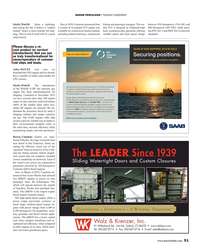 MR May-19#51 MARINE PROPULSION • THOUGHT LEADERSHIP Stiefel, WinGD
