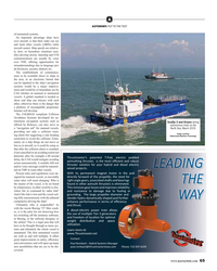 "MR May-19#65  aid"" for manned vessels,  North Sea, March 2019.  providing"