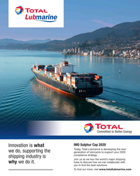 MR May-19#5 IMO Sulphur Cap 2020 Innovation is what  Today, Total