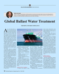 MR May-19#78 B BALLAST WATER MANAGEMENT: TOWARD COMPLIANCE William