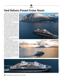 MR May-19#86 V VESSELS Vard Delivers Ponant Cruise Vessel Vard delivered