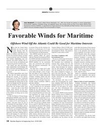 MR Jun-19#16 I INSIGHTS: RENEWABLE ENERGY Joan Bondareff is of counsel