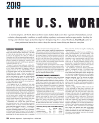 MR Jun-19#26 2019 THE U.S. WORK A 'work in progress,' the North American