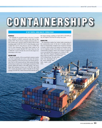 MR Jun-19#33 world yearbook CONTAINERSHIPS BY GUY COOPER, CARGO ANALYST,
