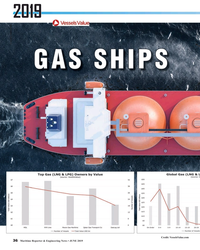 MR Jun-19#36 2019 © alexlmx/Adobe Stock GAS SHIPS Credit: VesselsValue