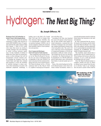 MR Jun-19#50 T TECH REPORT MARINE FUELS Hydrogen: The Next Big Thing? By