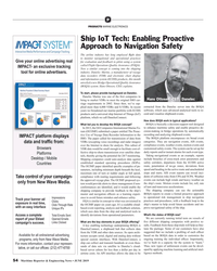 MR Jun-19#54 P PRODUCTS MARINE ELECTRONICS Ship IoT Tech: Enabling